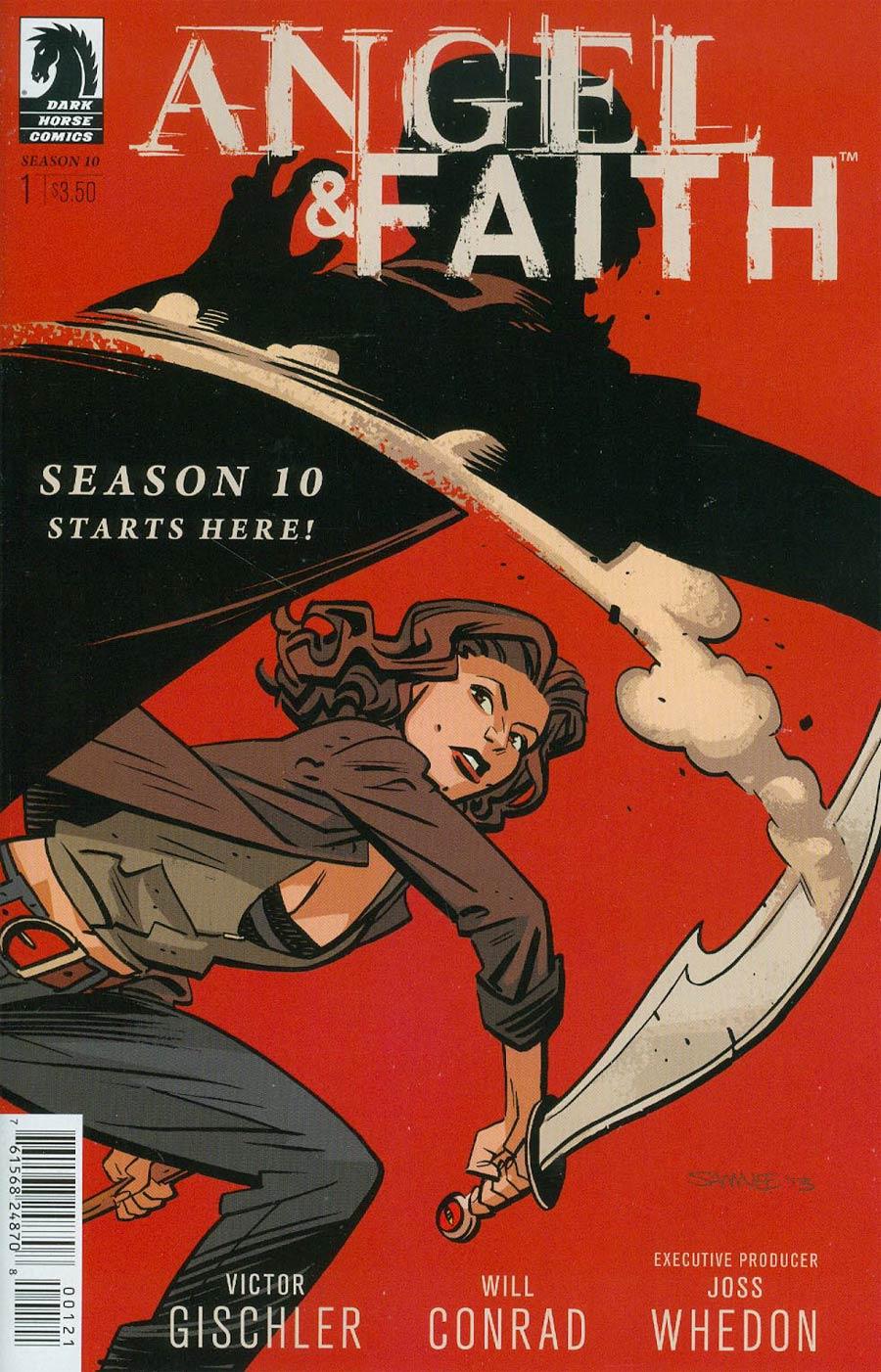 Angel And Faith Season 10 #1 Cover B Variant Chris Samnee Cover