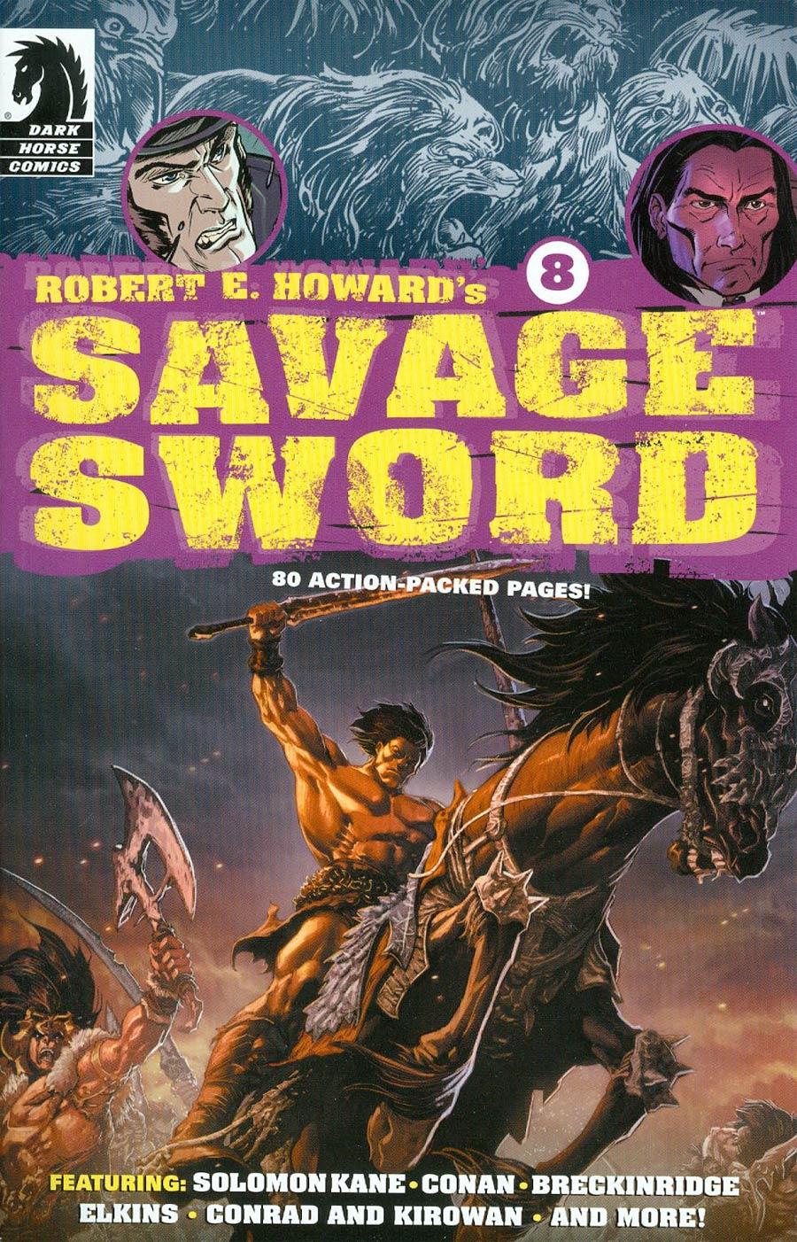 Robert E Howards Savage Sword #8