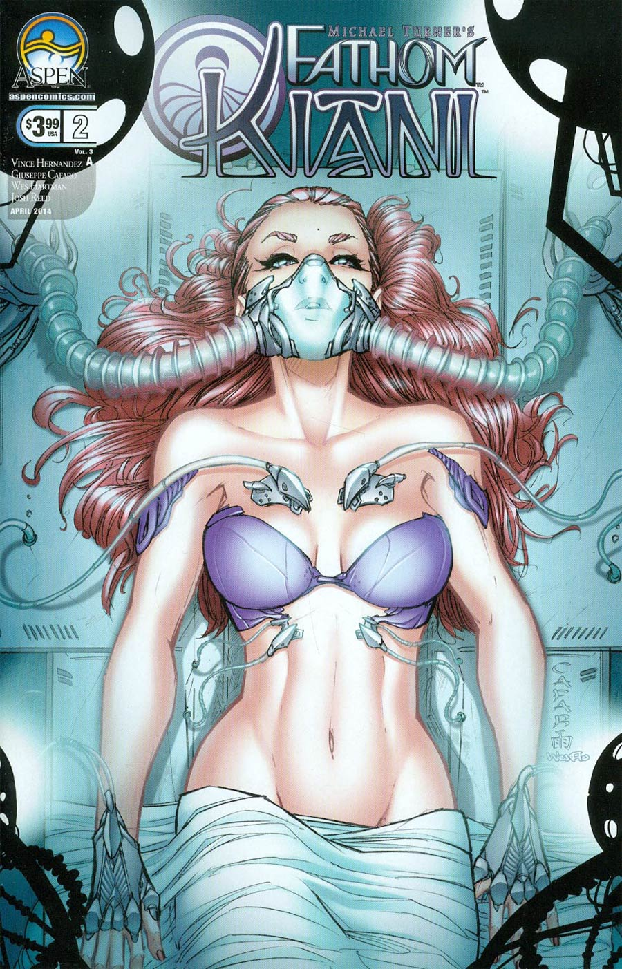 Fathom Kiani Vol 3 #2 Cover A Regular Giuseppe Cafaro Cover