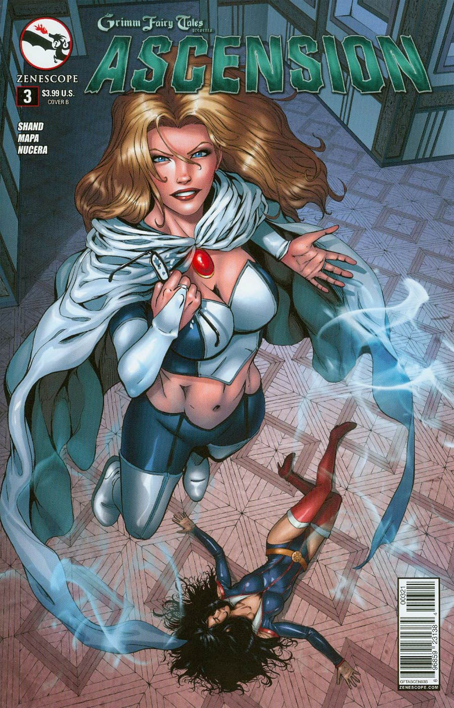 Grimm Fairy Tales Presents Ascension #3 Cover B Eric J