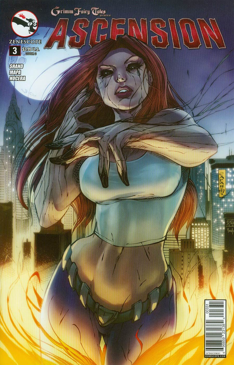 Grimm Fairy Tales Presents Ascension #3 Cover C Giuseppe Cafaro