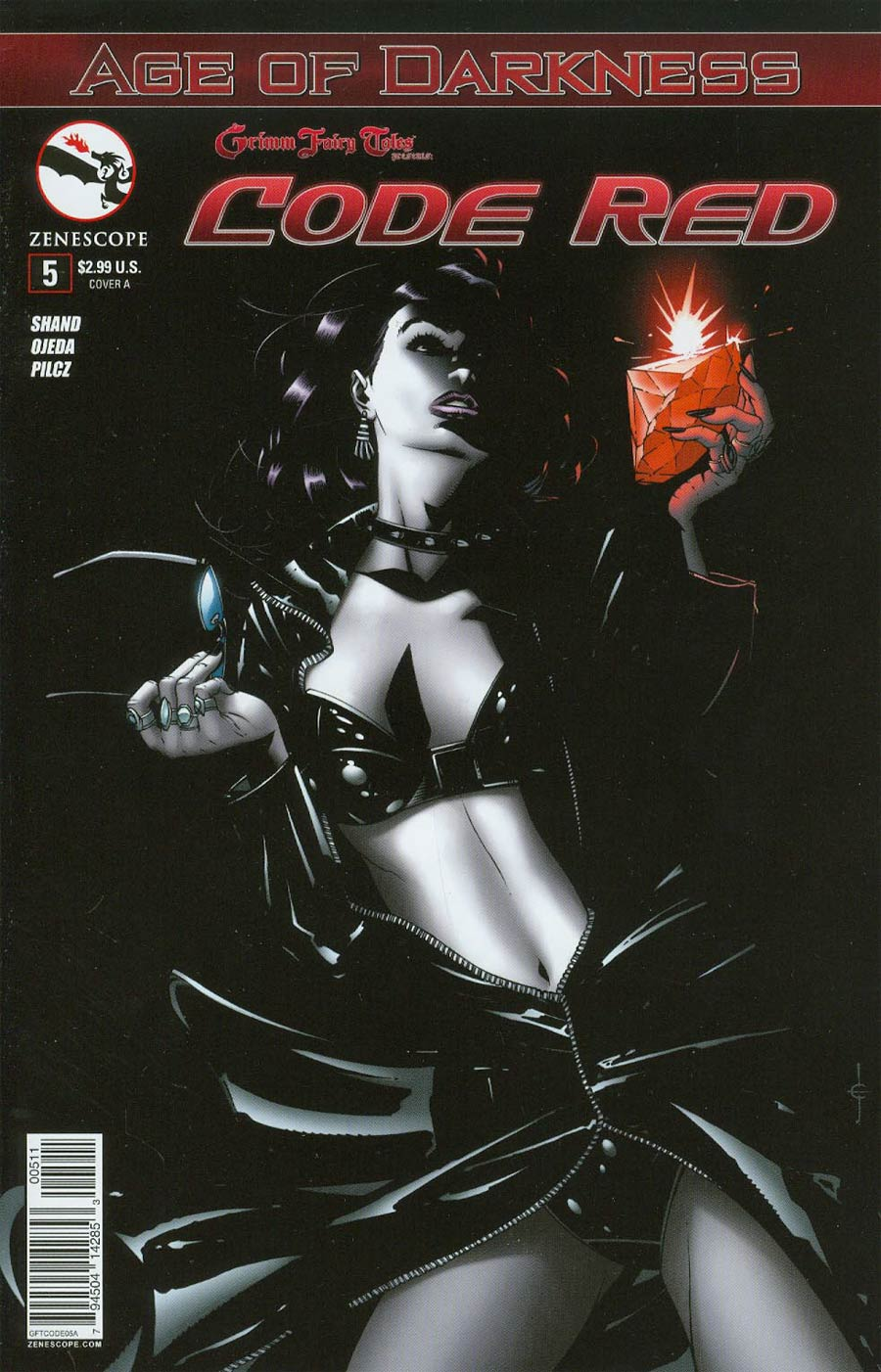 Grimm Fairy Tales Presents Code Red #5 Cover A Drew Edward Johnson (Age Of Darkness Tie-In)