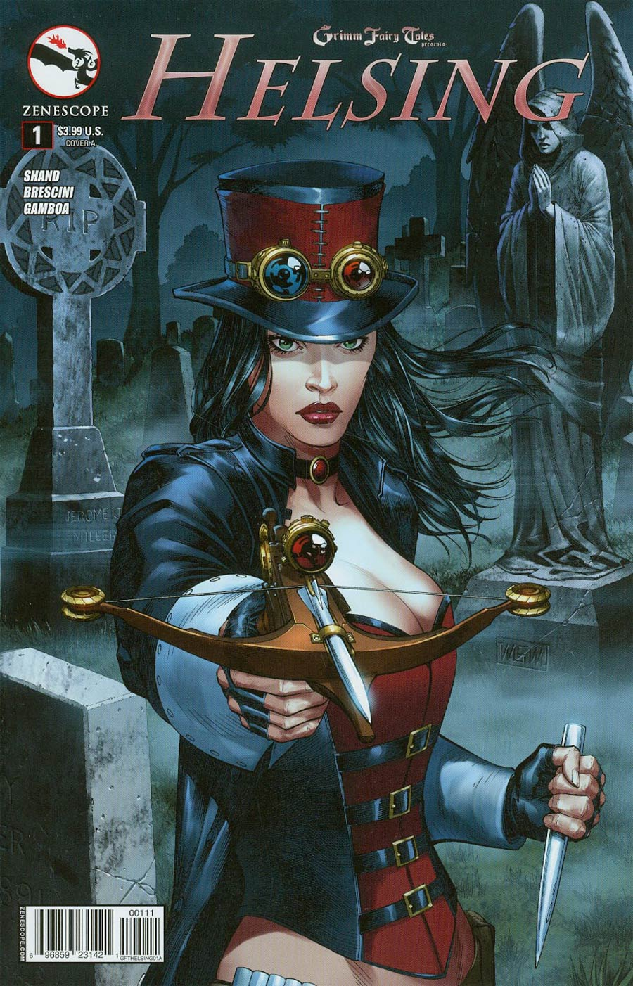 Grimm Fairy Tales Presents Helsing #1 Cover A Mike S Miller