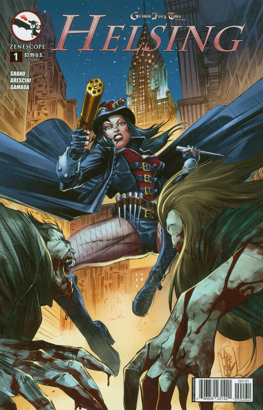 Grimm Fairy Tales Presents Helsing #1 Cover C Mike Lilly