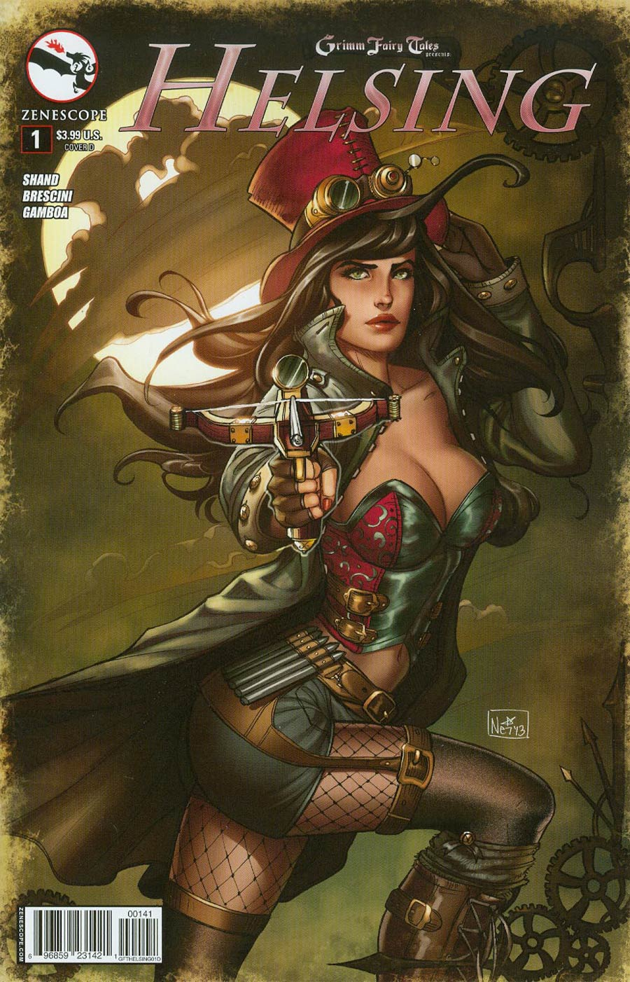 Grimm Fairy Tales Presents Helsing #1 Cover D Nei Ruffino