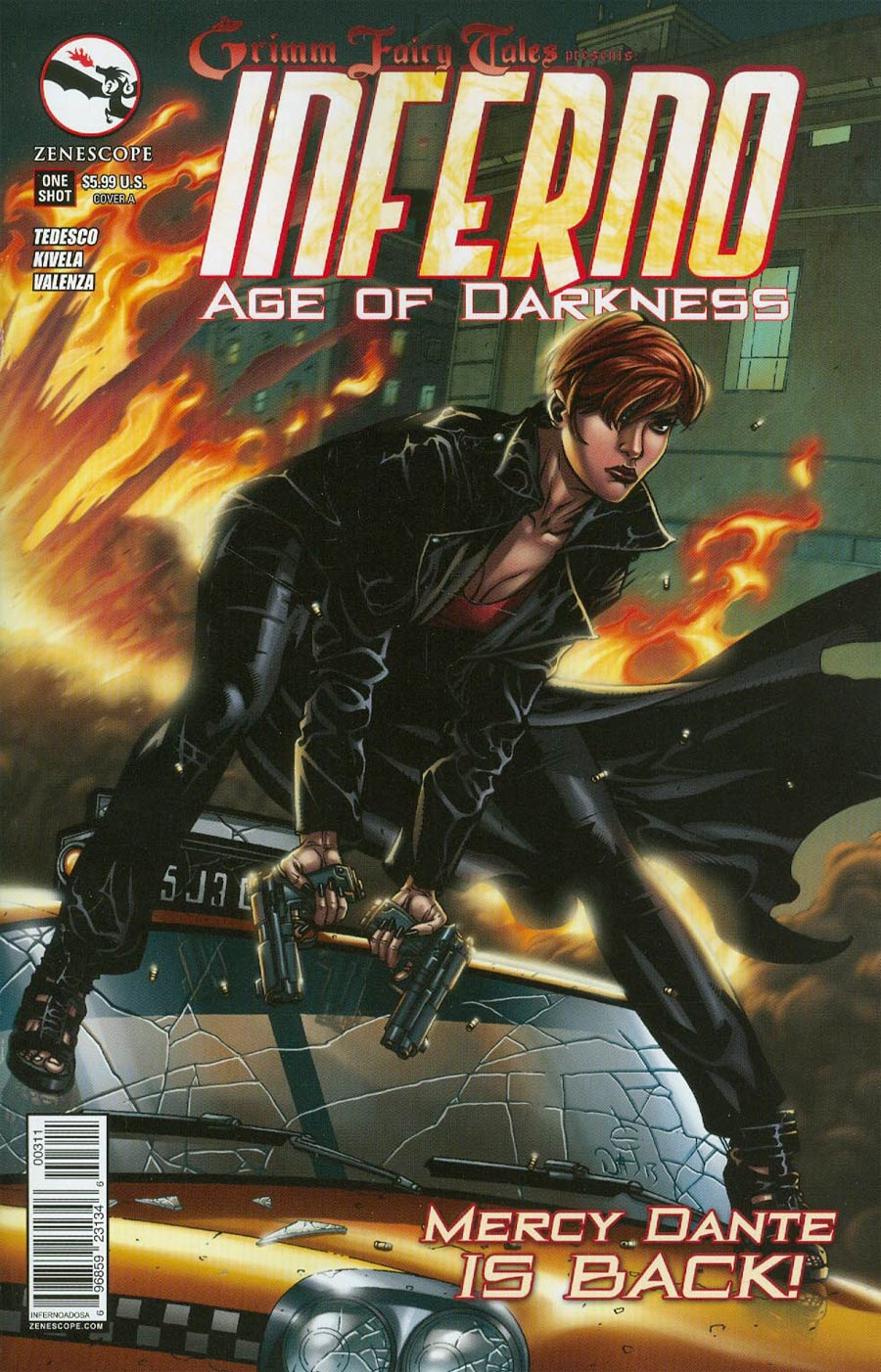 Grimm Fairy Tales Presents Inferno Age Of Darkness One Shot Cover A Drew Edward Johnson