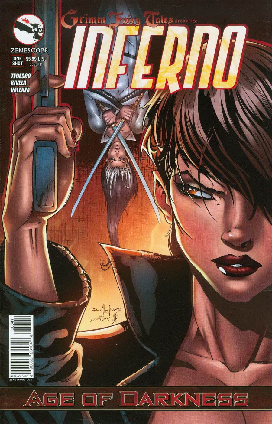 Grimm Fairy Tales Presents Inferno Age Of Darkness One Shot Cover D Pasquale Qualano