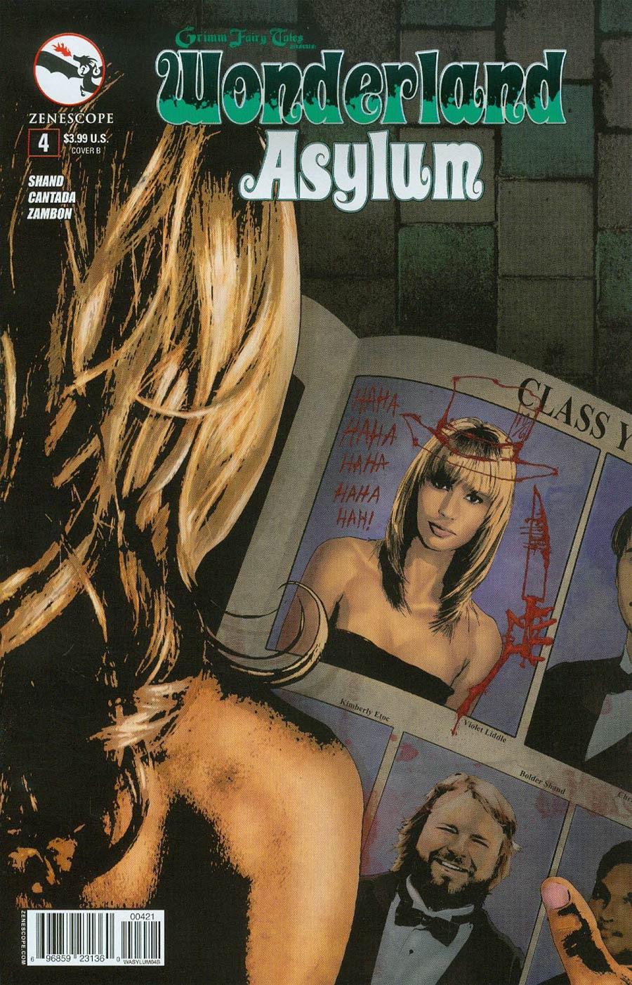 Grimm Fairy Tales Presents Wonderland Asylum #4 Cover B Christopher Cote