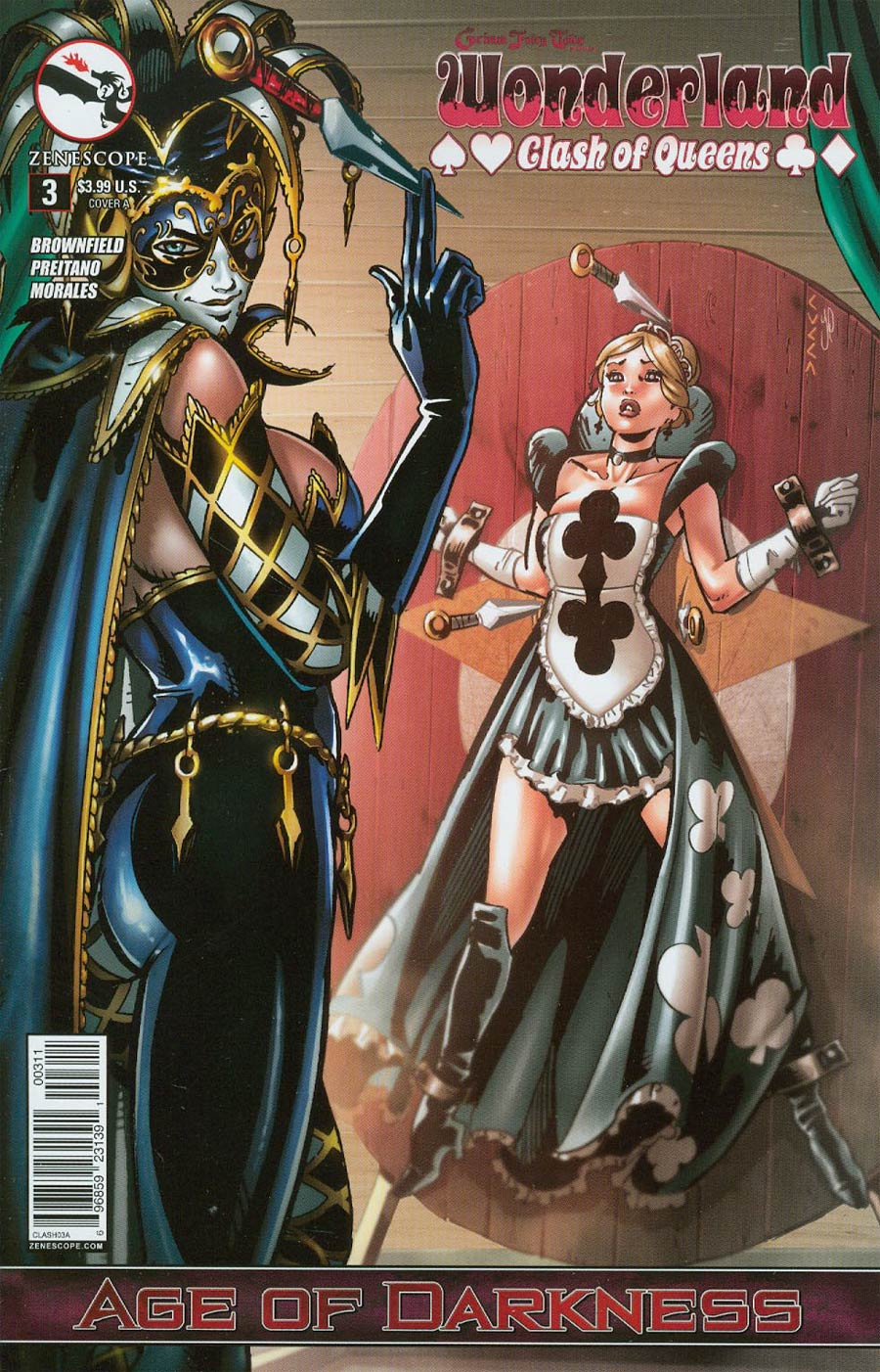 Grimm Fairy Tales Presents Wonderland Clash Of Queens #3 Cover A Vincenzo Cucca (Age Of Darkness Tie-In)