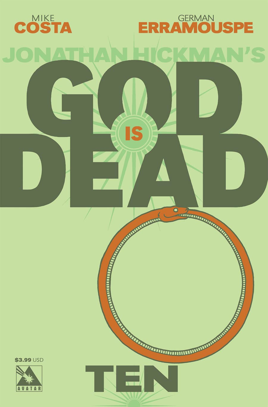 God Is Dead #10 Cover A Regular Cover