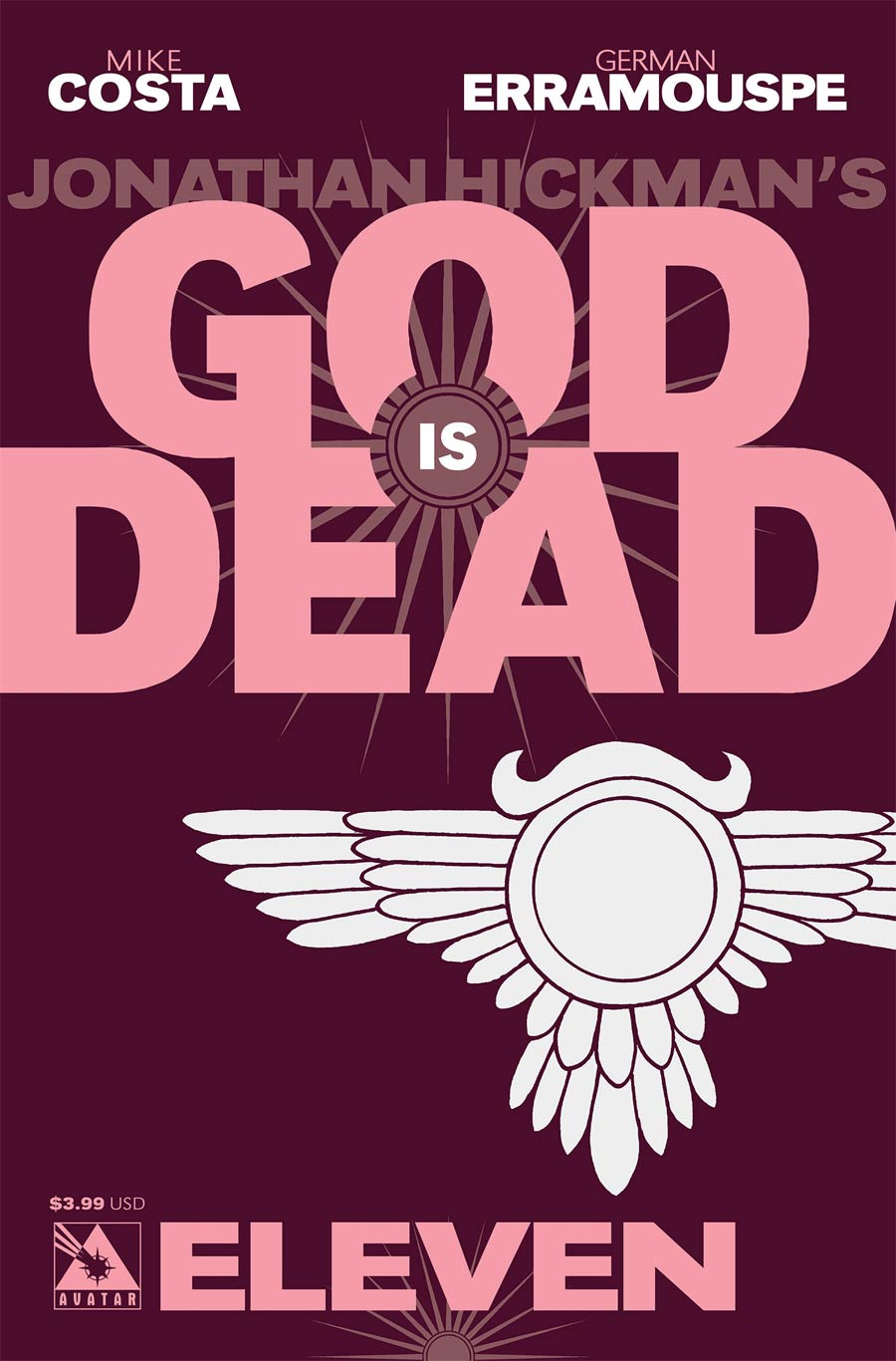 God Is Dead #11 Cover A Regular Cover