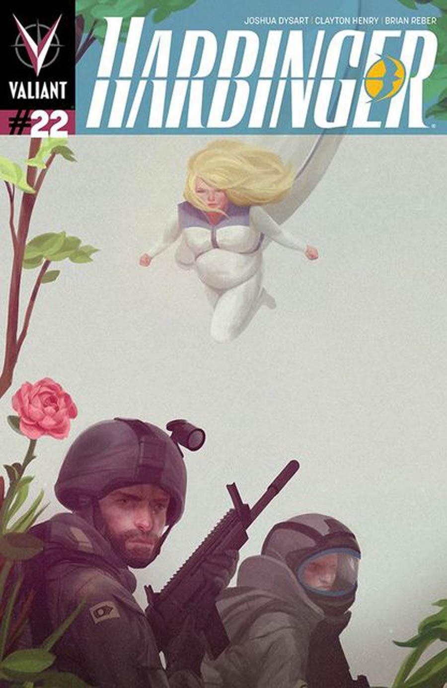 Harbinger Vol 2 #22 Cover B Variant Zachary Montoya Interlocking Cover