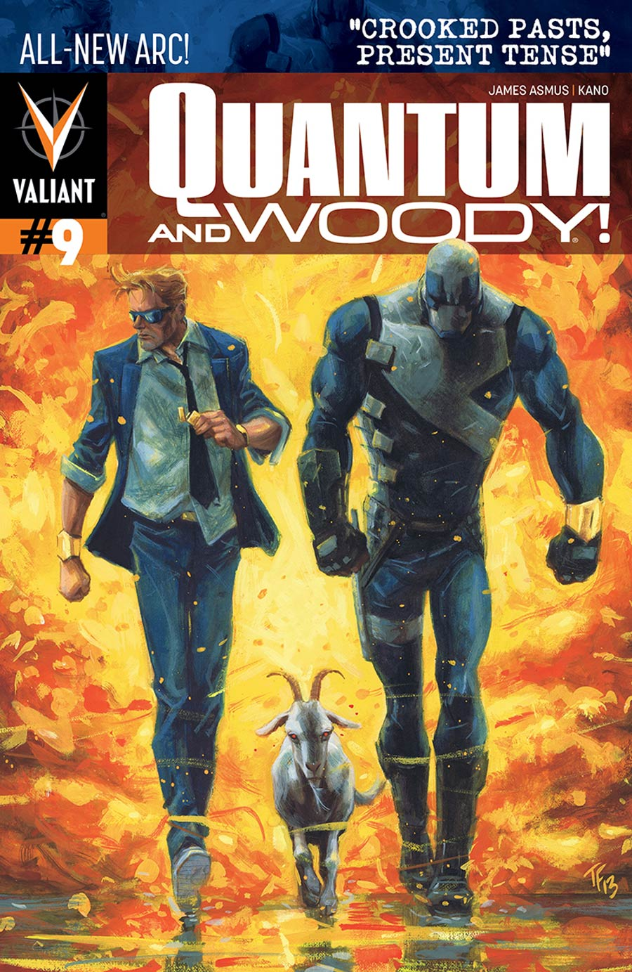 Quantum & Woody Vol 3 #9 Cover A Regular Tom Fowler Cover