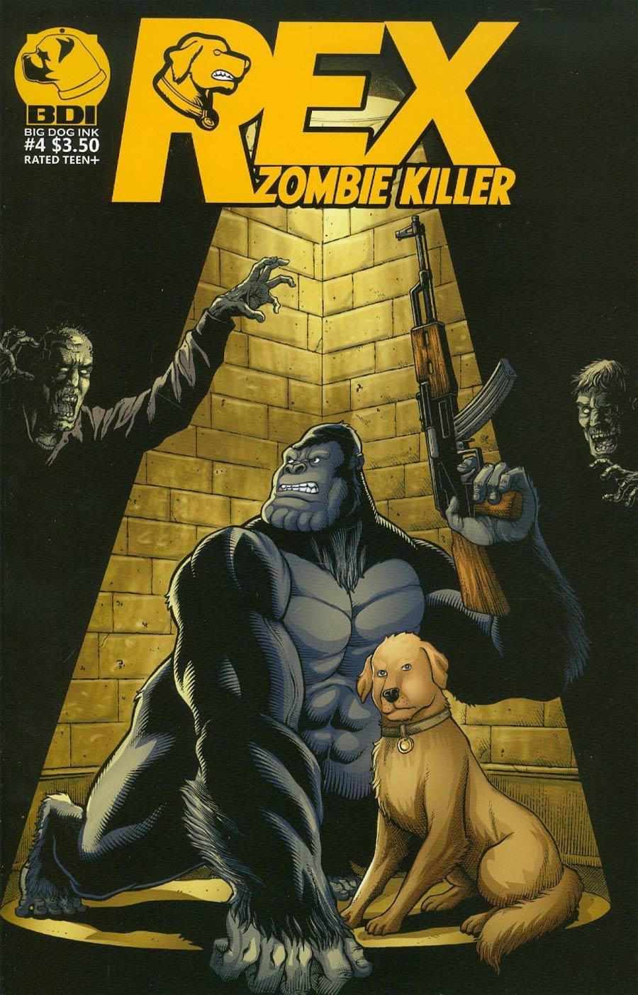 Rex Zombie Killer #4