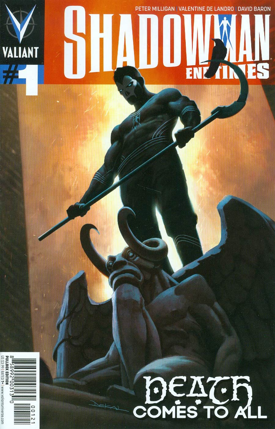 Shadowman End Times #1 Cover B Variant Jeff Dekal Pullbox Cover
