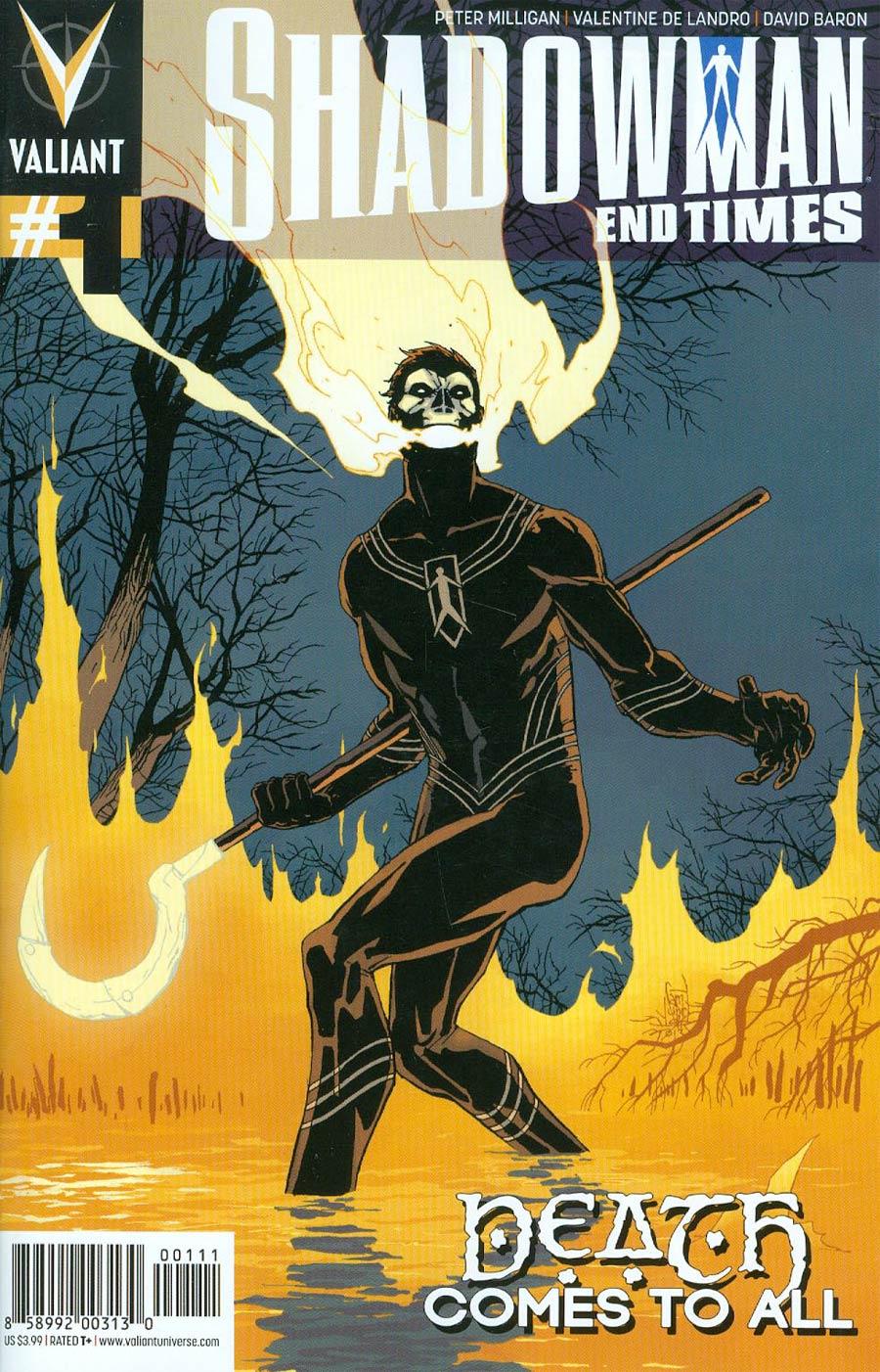 Shadowman End Times #1 Cover A Regular Giuseppe Camuncoli Cover