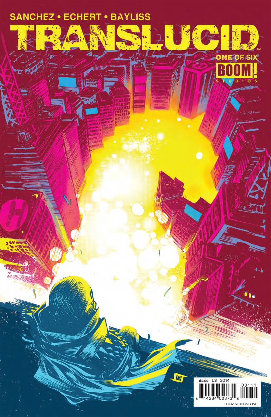 Translucid #1 Cover A Regular Jeff Stokely Cover