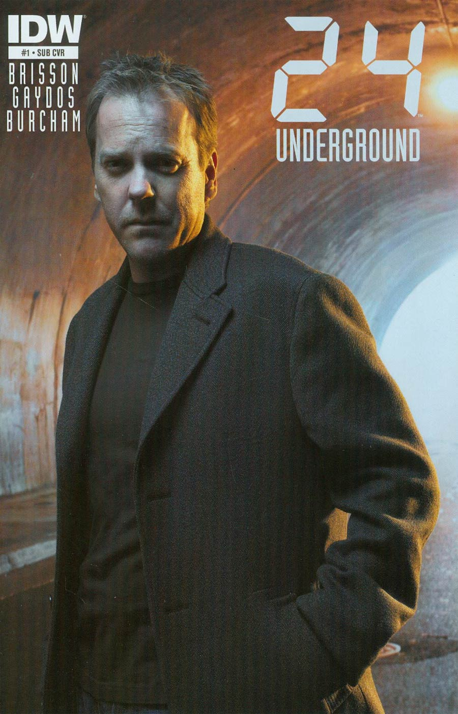 24 Underground #1 Cover B Variant Photo Subscription Cover