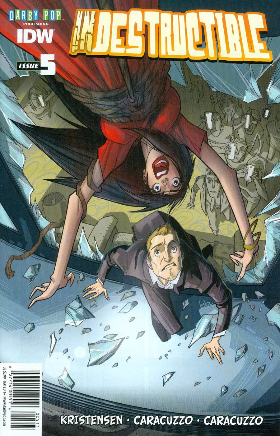 Indestructible #5 Cover A Regular Jose Lopez Cover