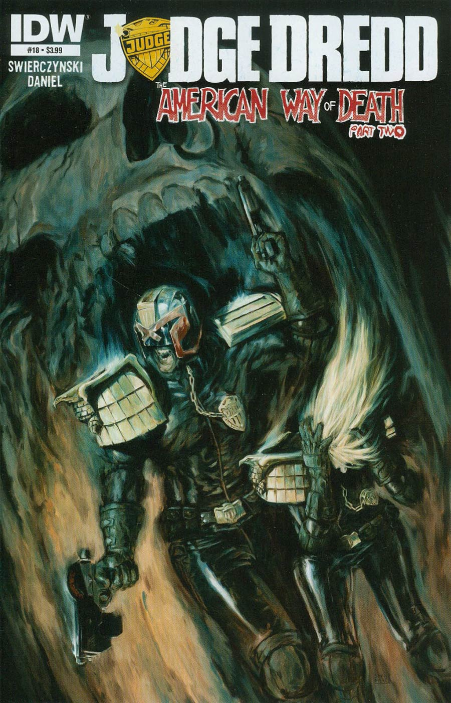Judge Dredd Vol 4 #18 Cover A Regular Shane Pierce Cover