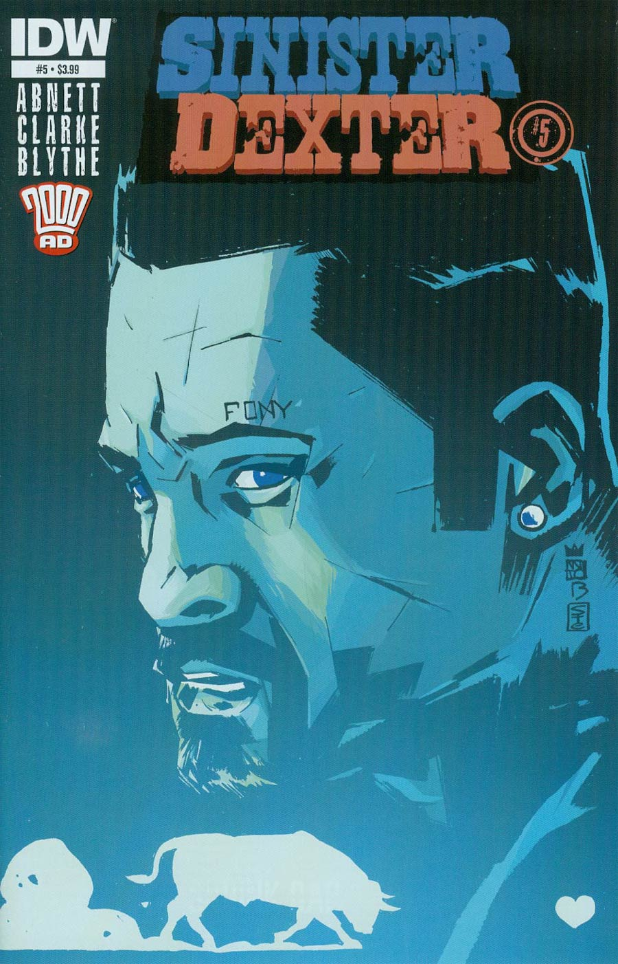 Sinister Dexter #5 Cover A Regular Antonio Fuso Cover