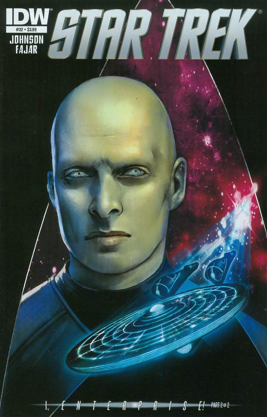 Star Trek (IDW) #32 Cover A Regular Erfan Fajar Cover