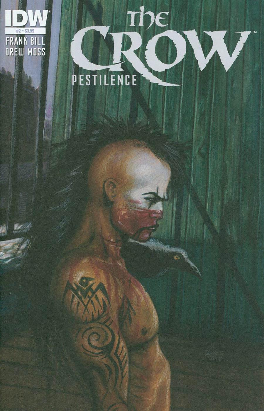 Crow Pestilence #2 Cover A Regular James OBarr Cover