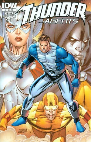 THUNDER Agents Vol 5 #8 Cover B Variant Rob Liefeld Subscription Cover