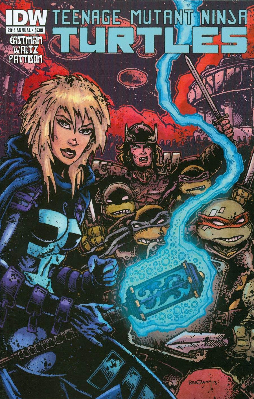 Teenage Mutant Ninja Turtles Vol 5 Annual 2014