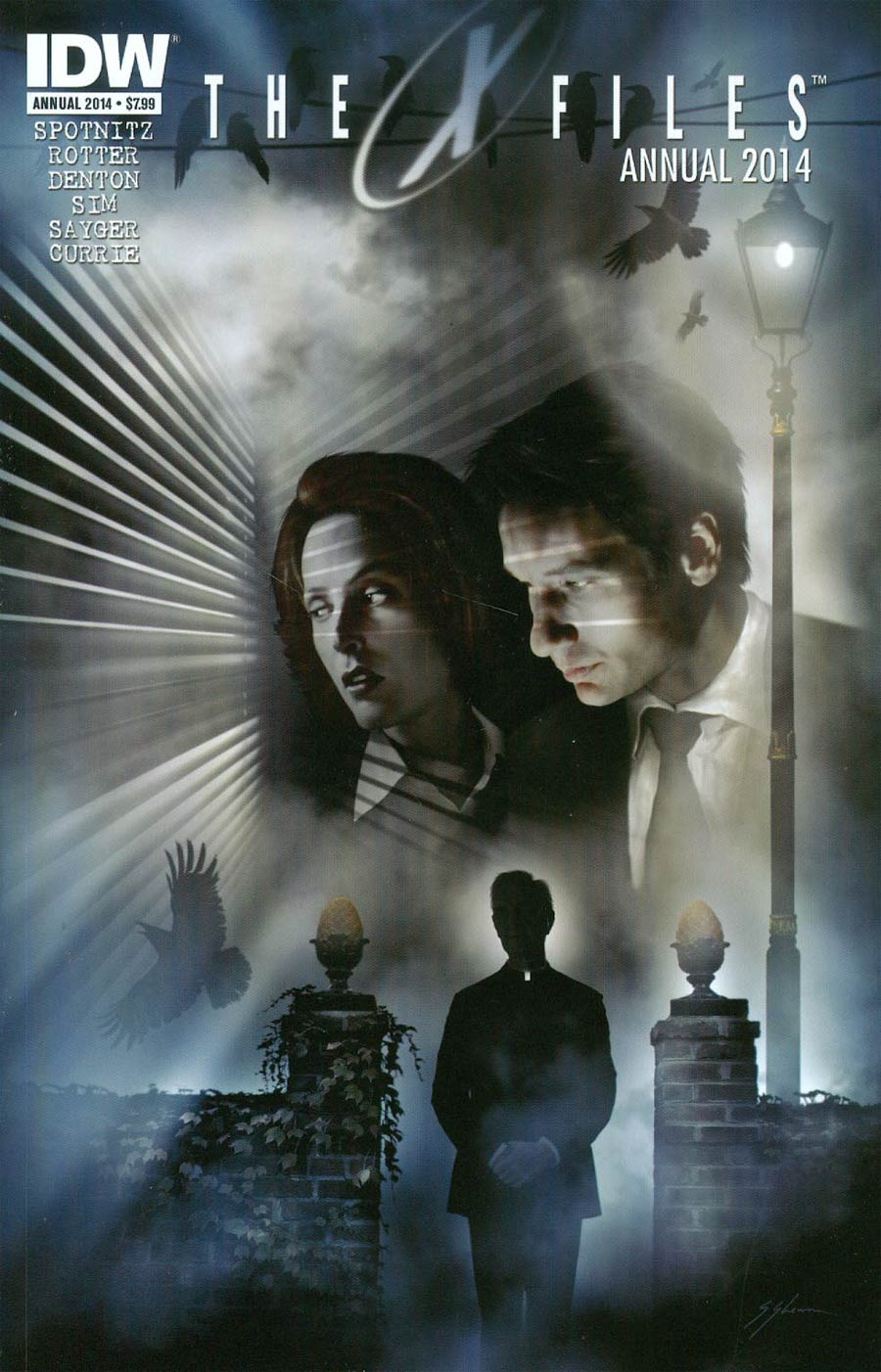 X-Files Season 10 Annual 2014 Cover A Regular Sam Shearon Cover