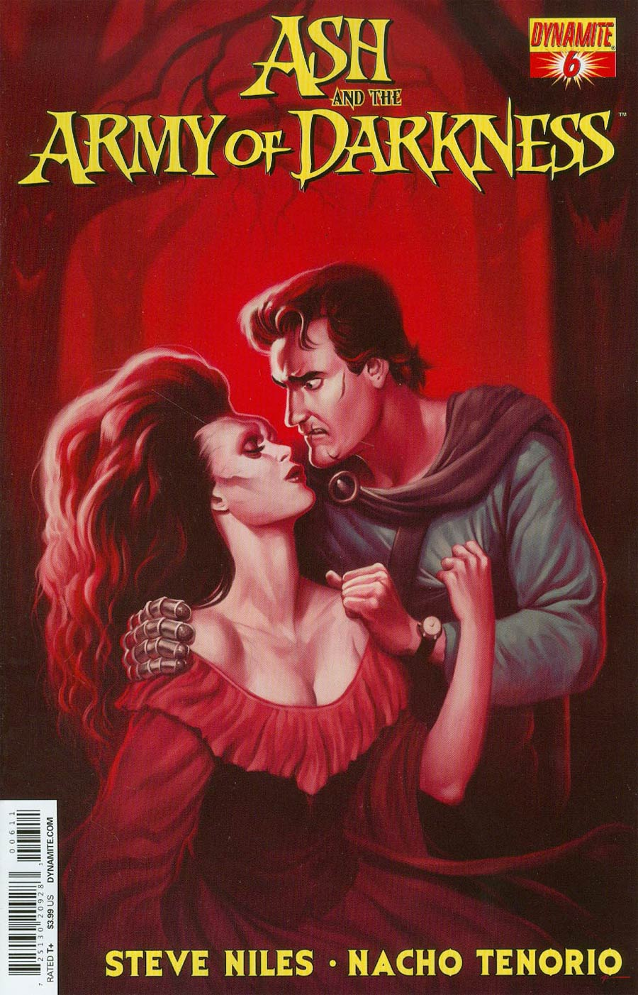 Ash And The Army Of Darkness #6 Cover A Regular Justin Erickson Cover