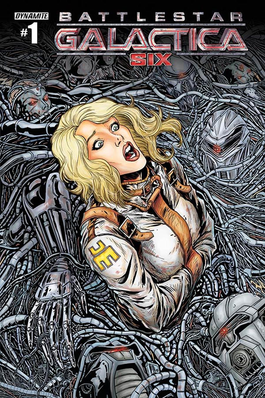 Battlestar Galactica Six #1 Cover B Variant Chris Bolson Cover