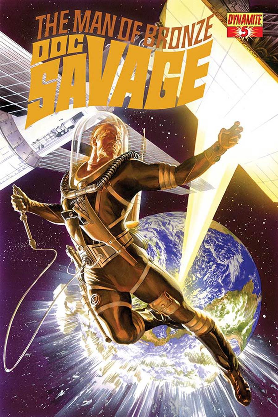 Doc Savage Vol 5 #5 Cover A Regular Alex Ross Cover