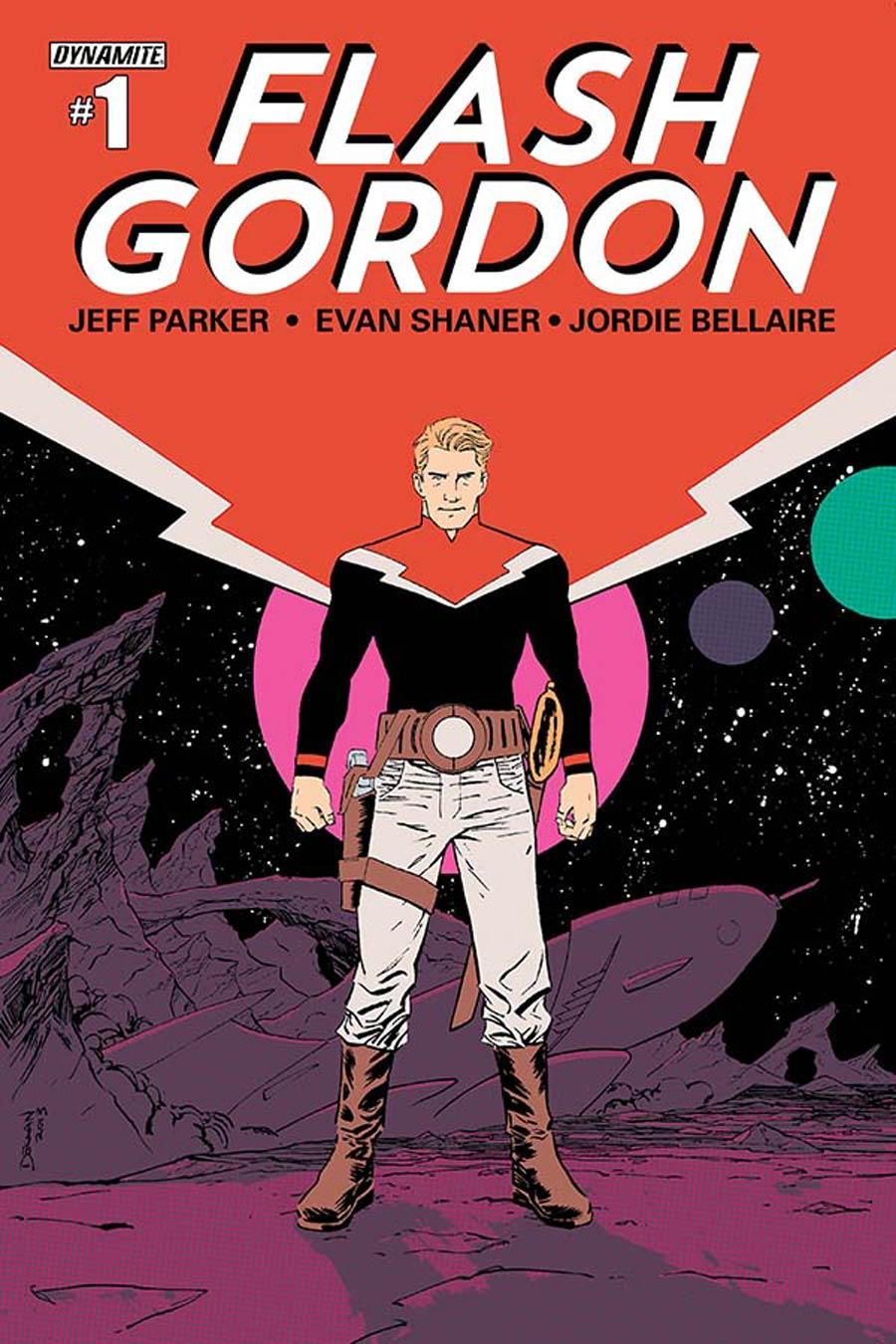 Flash Gordon Vol 7 #1 Cover C Regular Declan Shalvey Cover