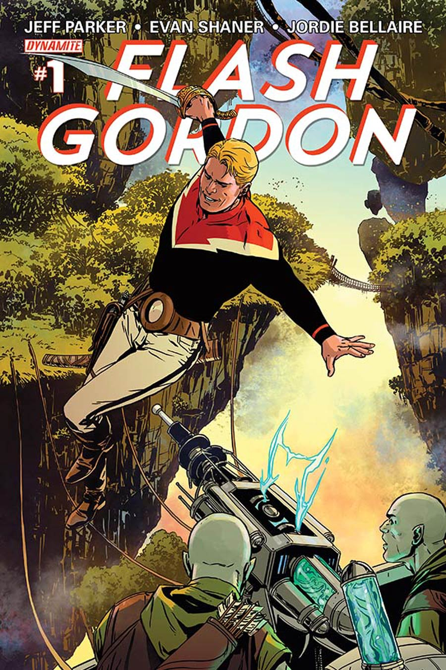Flash Gordon Vol 7 #1 Cover D Regular Marc Laming Cover