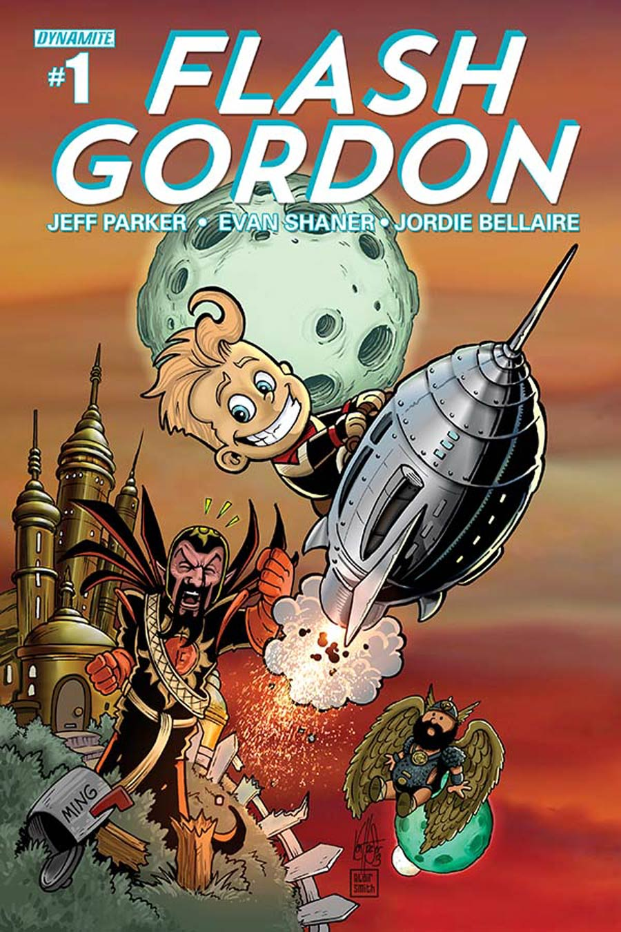 Flash Gordon Vol 7 #1 Cover E Variant Ken Haeser Lil Flash Subscription Cover