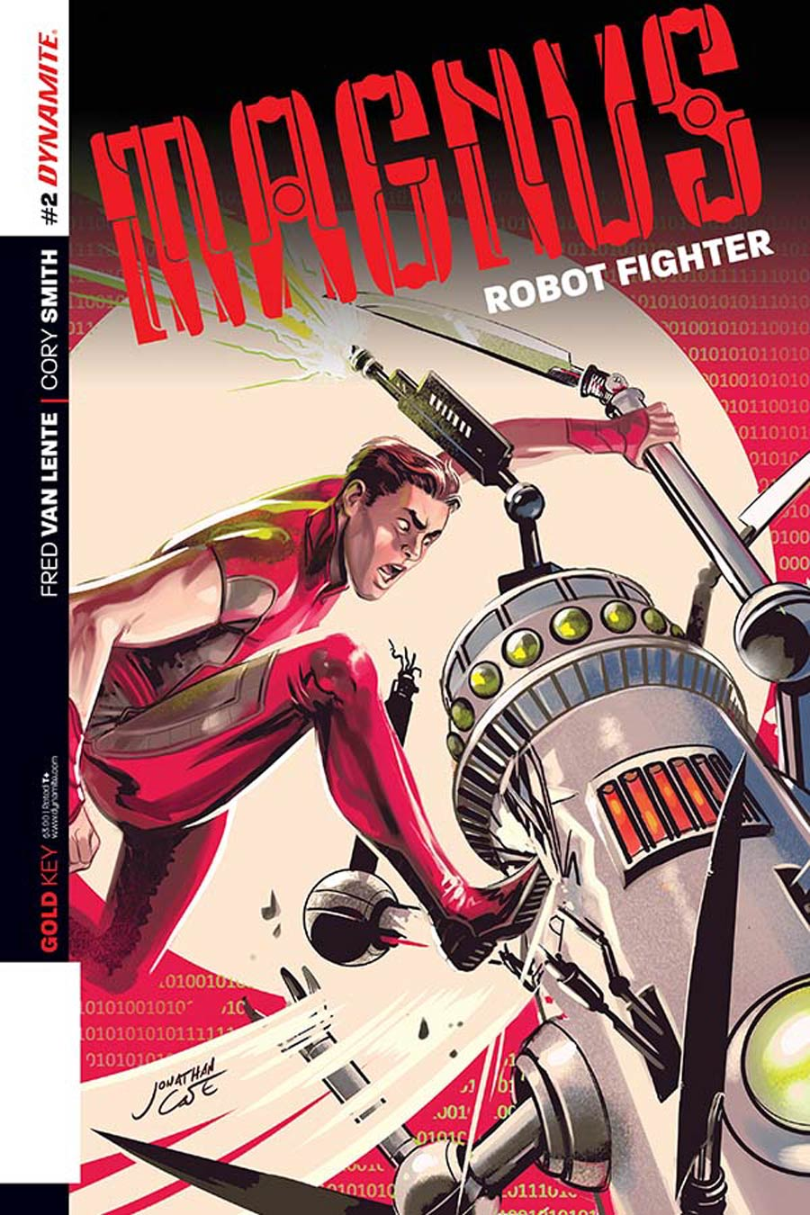 Magnus Robot Fighter Vol 4 #2 Cover B Variant Jonathan Case Exclusive Subscription Cover
