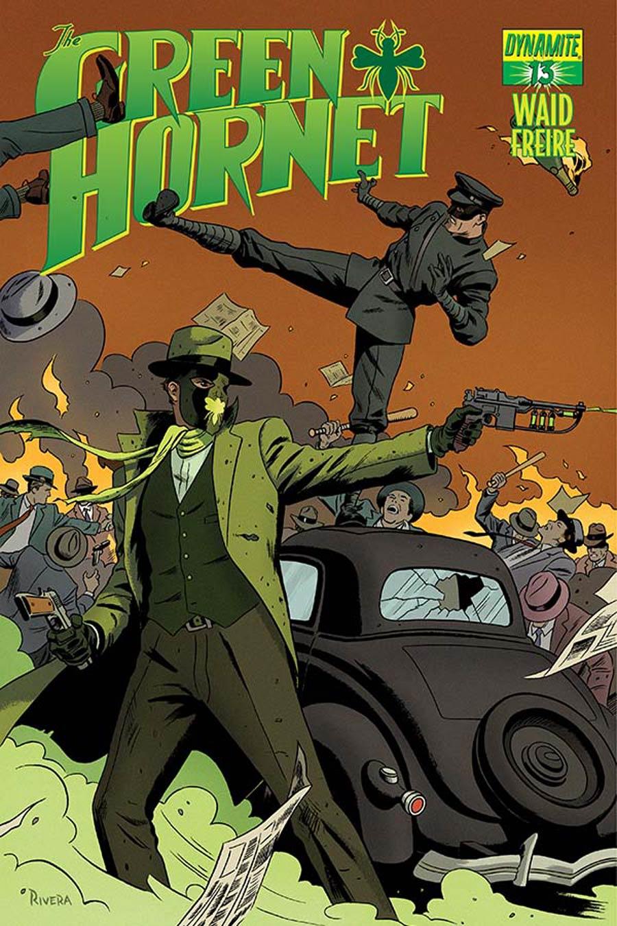 Mark Waids Green Hornet #13 Cover A Regular Paolo Rivera Cover