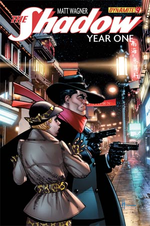 Shadow Year One #9 Cover D Regular Howard Chaykin Cover