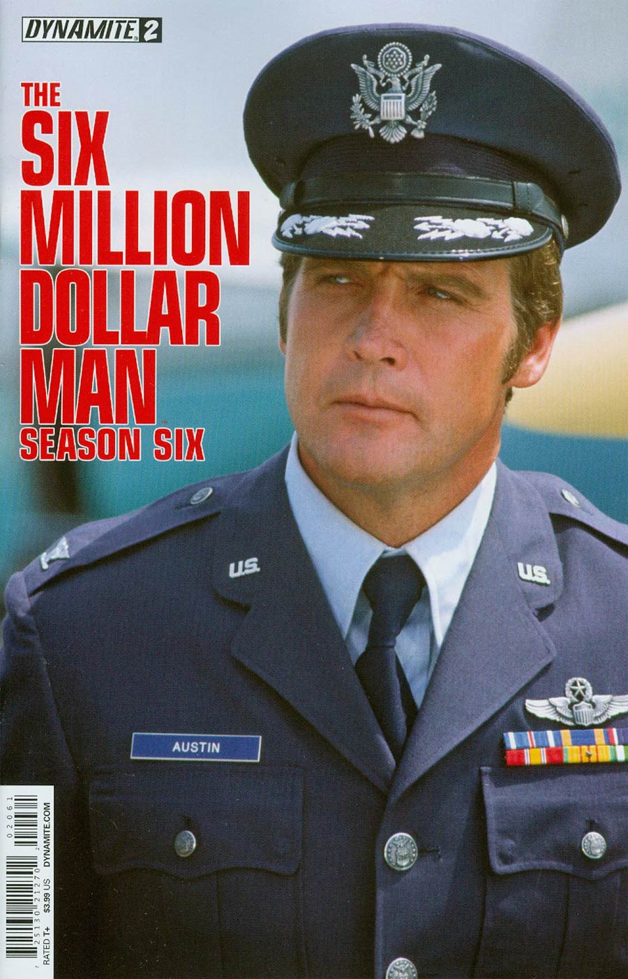 Six Million Dollar Man Season 6 #2 Cover C Variant Photo Subscription Cover