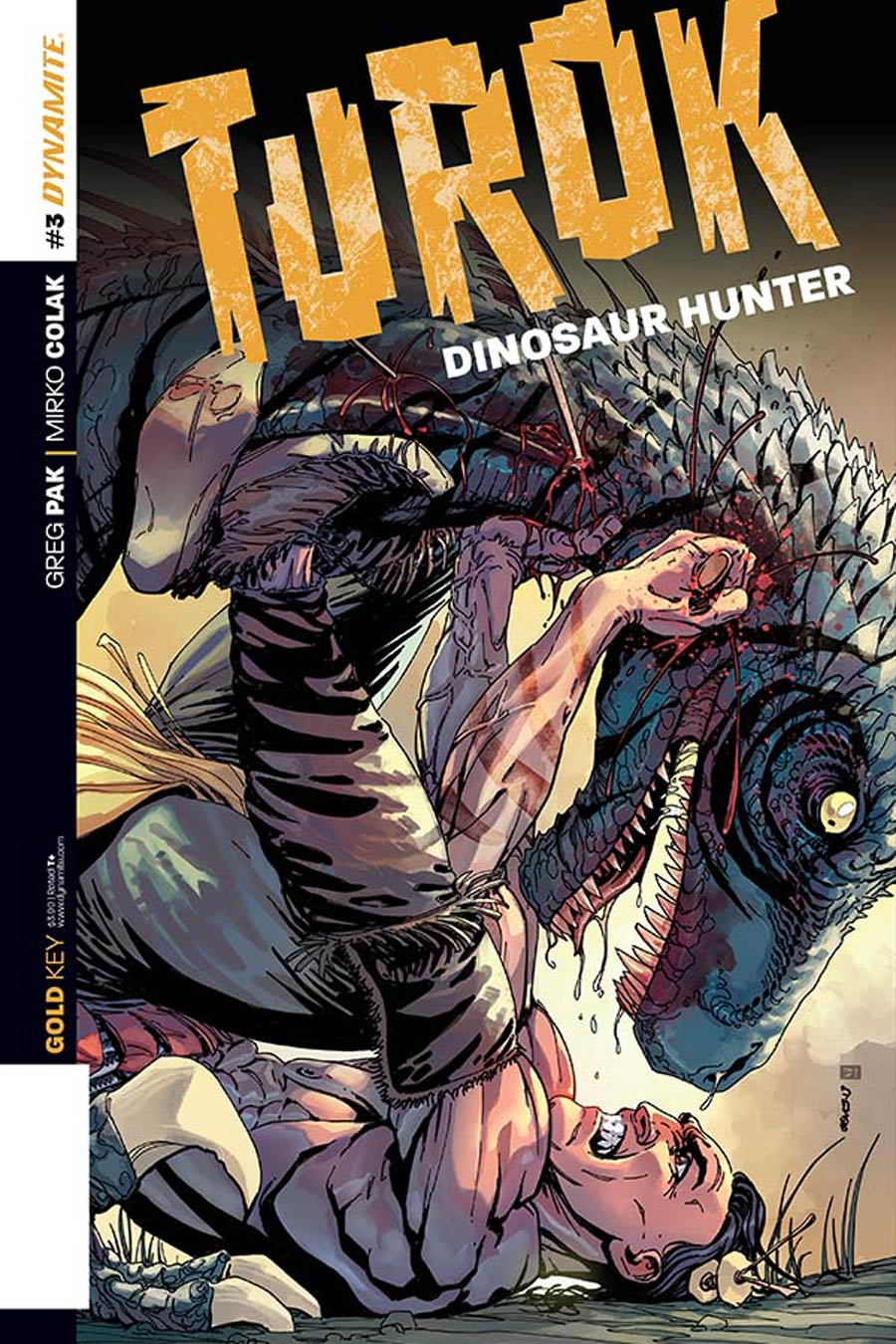 Turok Dinosaur Hunter Vol 2 #3 Cover A Regular Bart Sears Cover
