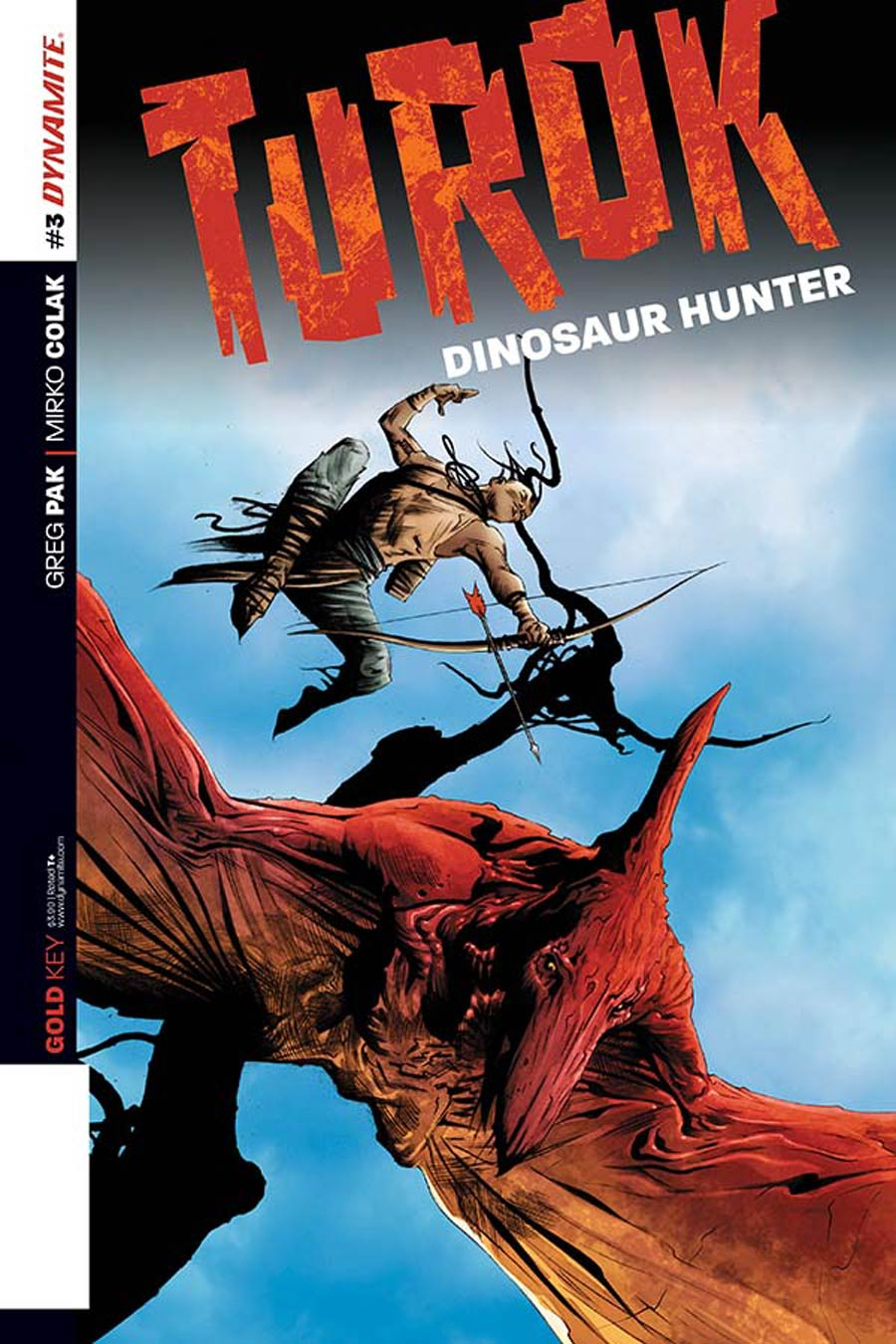 Turok Dinosaur Hunter Vol 2 #3 Cover B Variant Jae Lee Exclusive Subscription Cover