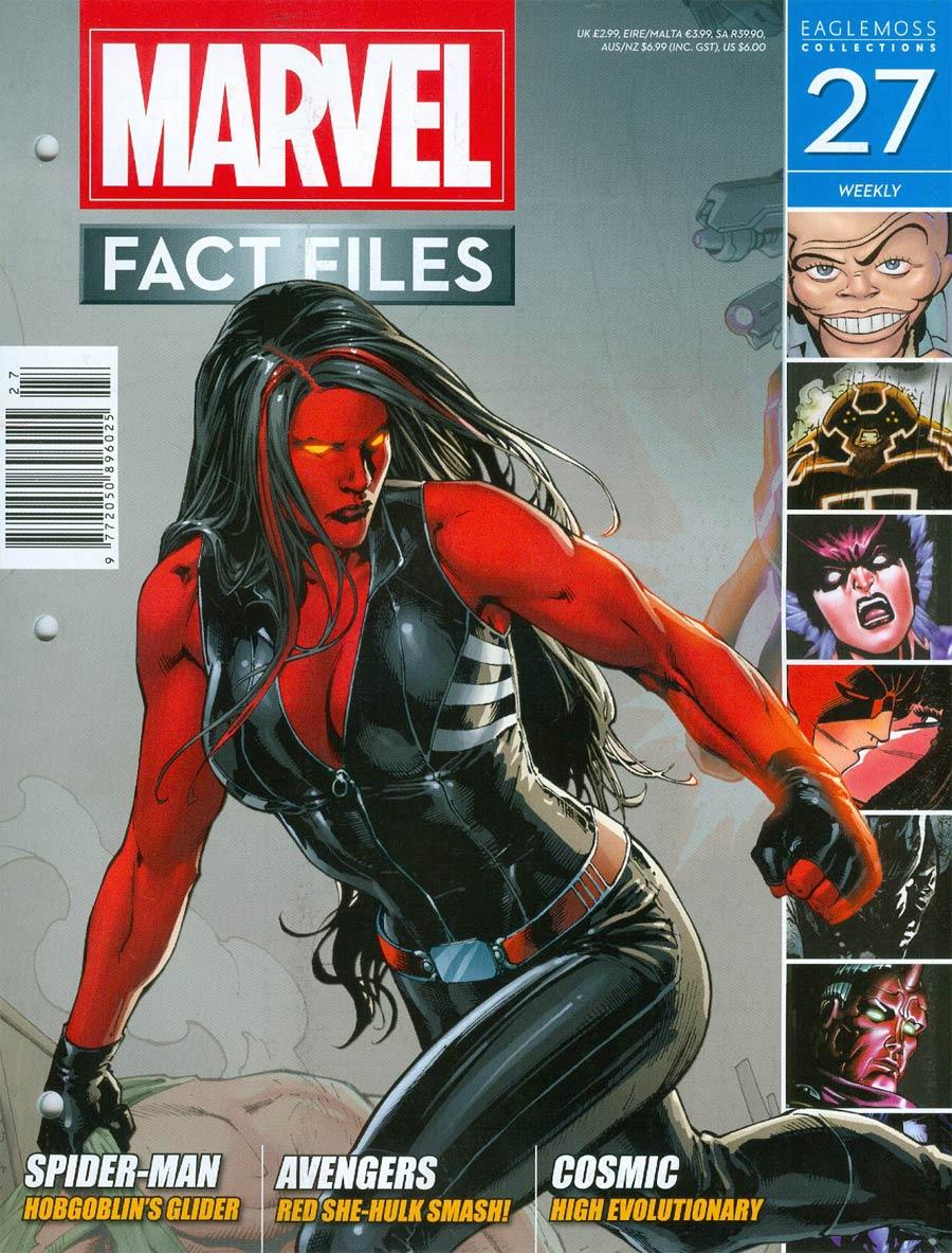 Marvel Fact Files #27 Red She-Hulk