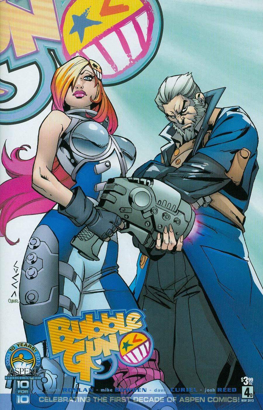 Bubblegun #4 Cover D Vincenzo Cucca