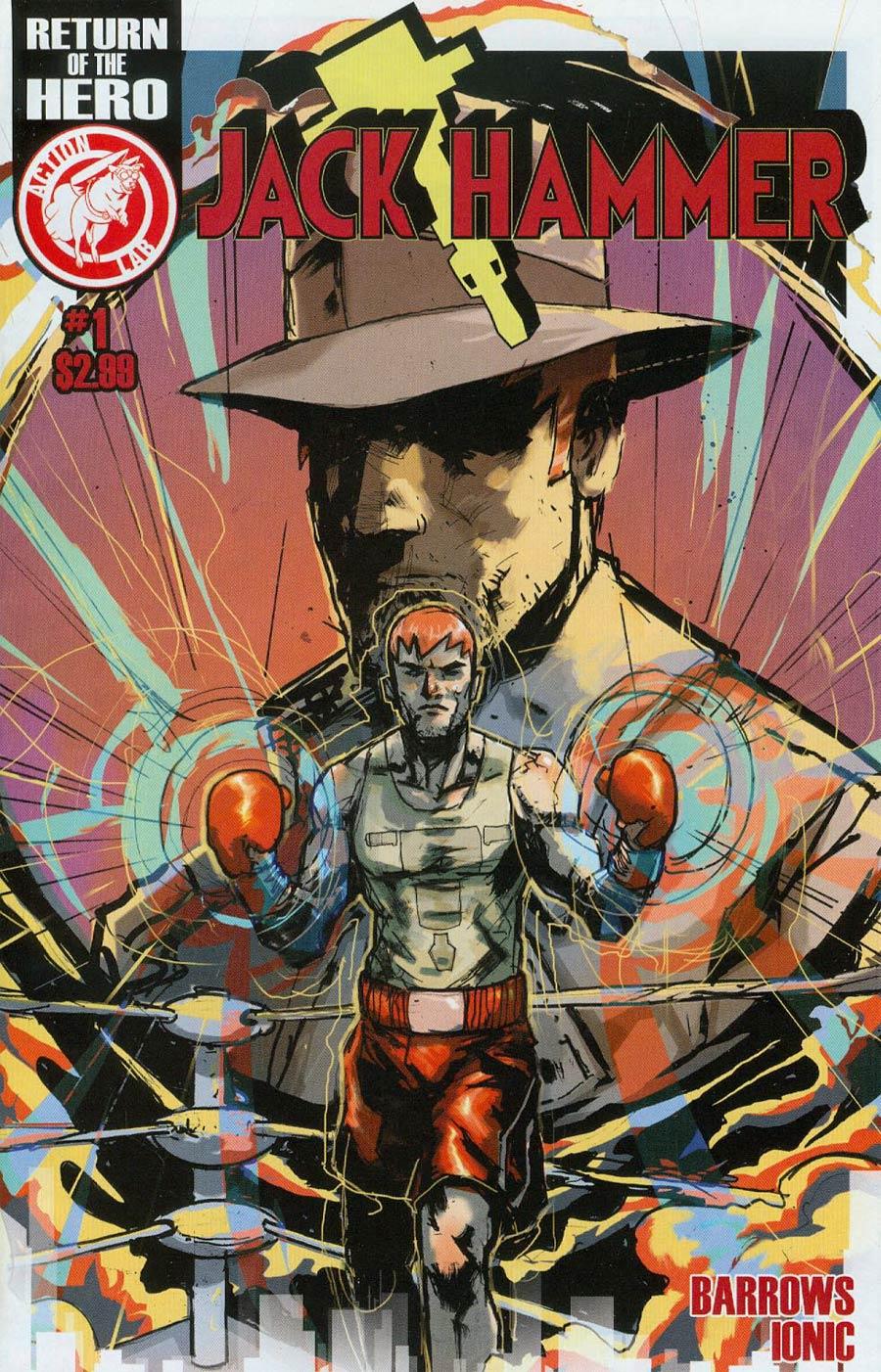 Jack Hammer #1 Cover B Riley Rossmo