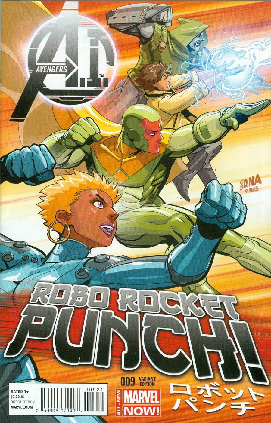 Avengers AI #9 Cover B Incentive David Nakayama Variant Cover