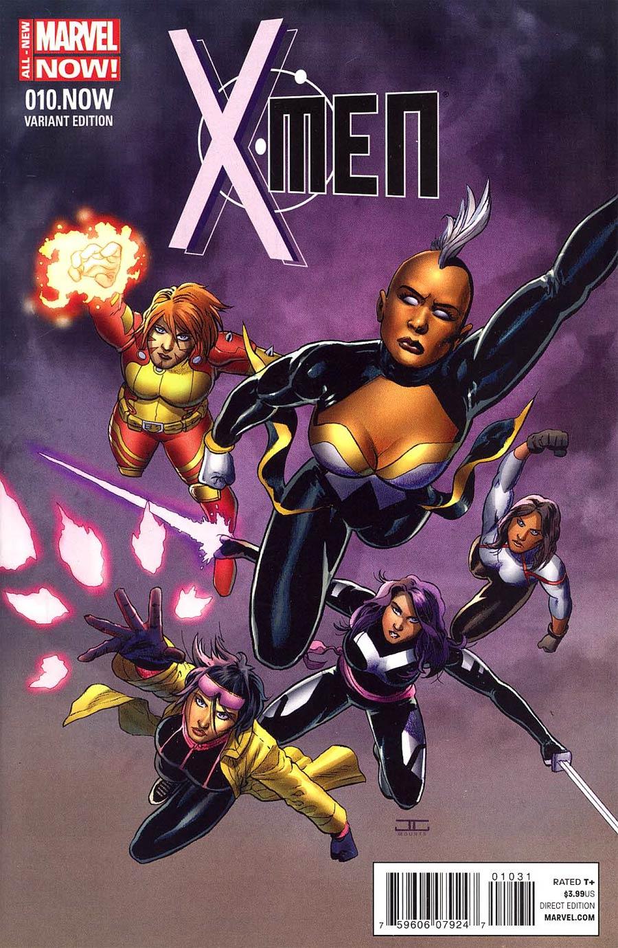 X-Men Vol 4 #10.NOW Cover C Incentive John Cassaday Color Variant Cover