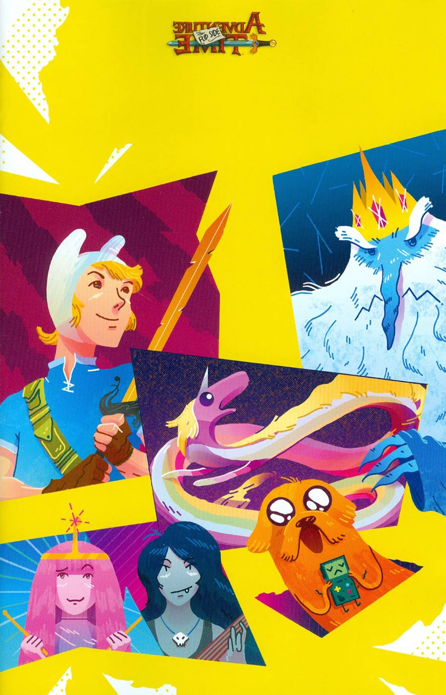 Adventure Time Flip Side #2 Cover D Incentive Nick Iluzada Virgin Variant Cover