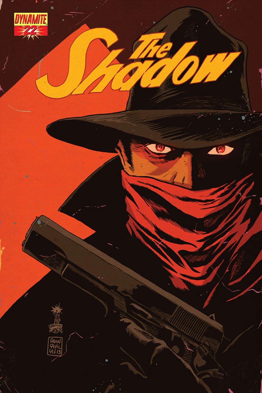 Shadow Vol 5 #22 Cover D Variant Francesco Francavilla Cover