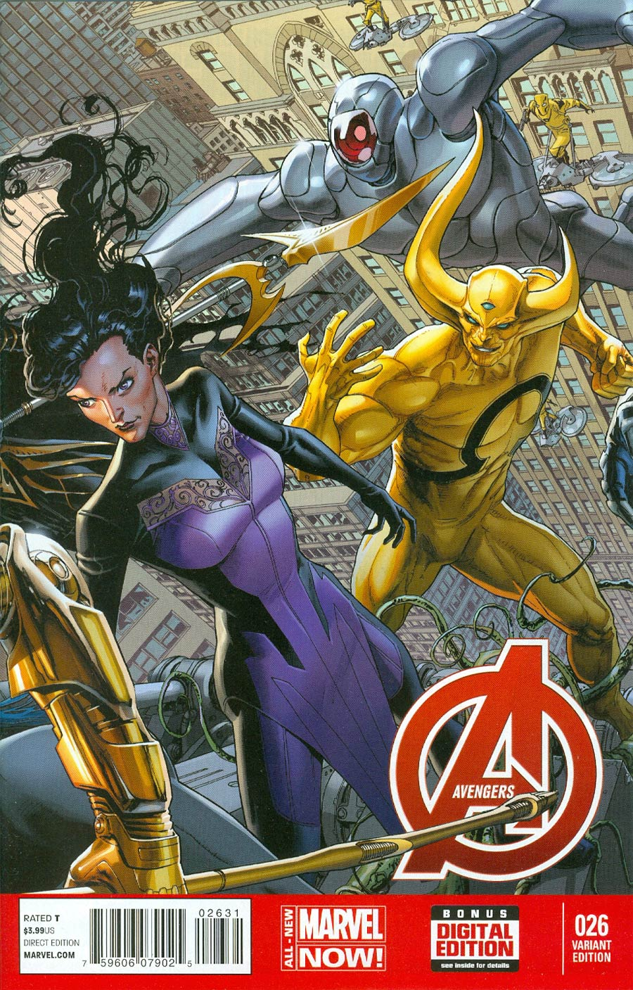 Avengers Vol 5 #26 Cover B Incentive Dustin Weaver Variant Cover